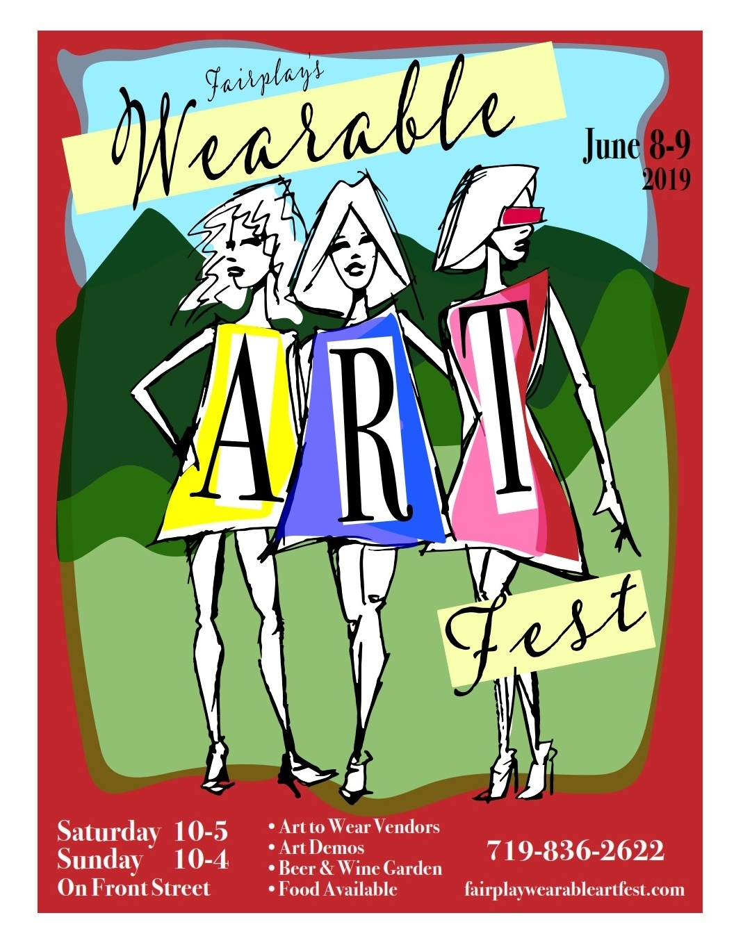 Fairplay Wearable Artfest in Colorado